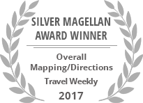 Travel Weekly - Magellan Award - Maps 2017